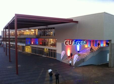CU Arena, Aussenansicht, Halle Hamburg